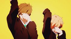 """""""Rin and Rei is my brotp of brotps and i screamed at this part"""" HAHAHAHHA"""