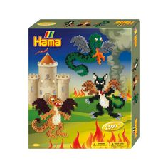 Buy Hama Beads Dragon Gift Box from our gift range at English Heritage. Bead Crafts, Arts And Crafts, Buy Toys, English Heritage, Bank Holiday Weekend, Creative Skills, Different Shapes, Craft Kits, Hama Beads