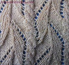 Liana knitting stitches