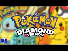 Pokemon Diamond Gameplay - Leader Battle!- Episode 4 - YouTube #pokemon