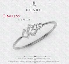 #real #diamond #designer #jewelery #fashion-wear #party -wear #daily-wear #bracelets from #charu #jewels
