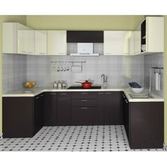 U Shape 7 x 10' Ft Modular Kitchen