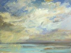 Ocean Moods series #45  30x40x1.5 on canvas