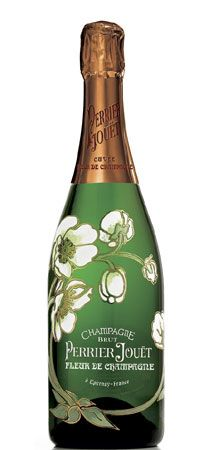 Perrier Jouet has the most beautiful champange bottles. They just make me want to put them on display!