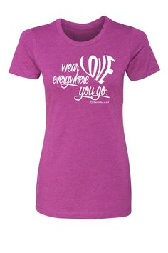 Colossians 3:14 T-shirt