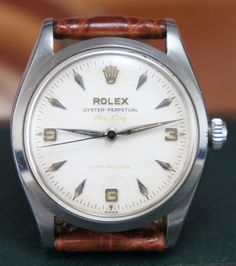 Rolex Air King ref 5500 with rare dial