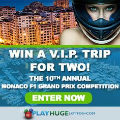 Win VIP tickets to the Monaco Grand Prix!