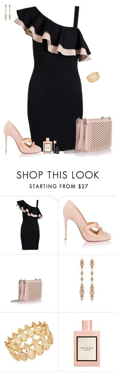 """Set 2017"" by lapshi4ka ❤ liked on Polyvore featuring Dorothy Perkins, Christian Louboutin, Fernando Jorge, INC International Concepts, Gucci and NARS Cosmetics"