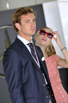 Pierre Casiraghi - Beatrice Borromeo  - Grand Prix de Monaco -May 2015