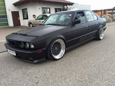 blacked out E34