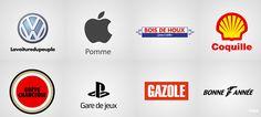 40 grandes marques mondialement connues littéralement traduites en français