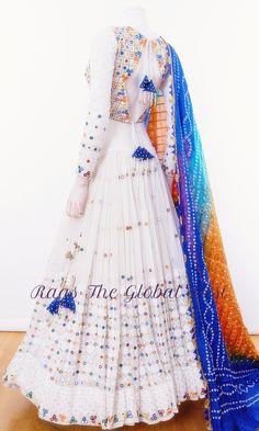 - Source by hiralpatelnjj - Garba Dress, Lehnga Dress, Long Gown Dress, The Dress, Lehenga Choli, Designer Anarkali Dresses, Designer Party Wear Dresses, Kurti Designs Party Wear, Lehenga Designs