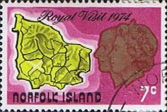 Norfolk Island 1974 Royal Visit Fine Used SG 149 Scott 172 Other Norfolk Island Stamps HERE