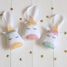 DIY Felt Unicorn Decoration Sewing Kit
