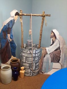 The woman at the well for VBS