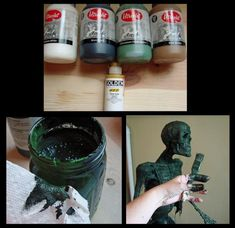 Latexing, Corpsing and Painting Boogedy: Tutorial - Blogs - Halloween Forum