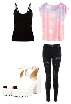 """School"" by wont-stop-loving-queen-rydel ❤ liked on Polyvore"