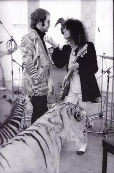 Elton John and Marc Bolin of T-Rex