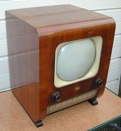 "Vintage Sobell T90 TV - 9"" Screen"