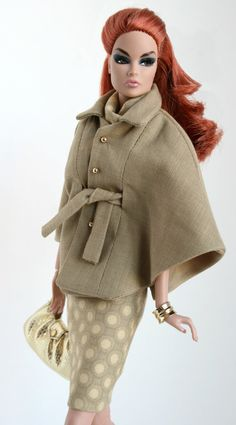 Cape, Skirt and Scarf by Chic Barbie Designs on Etsy