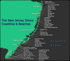 Jersey Shore-Welcome To Shore-Guide. The New Jersey Shore's Hottest Beaches! New Jersey Beaches, Nj Beaches, Island Beach State Park, Long Beach Island, Monmouth Beach, Bradley Beach, Seaside Park, Seaside Heights, Asbury Park