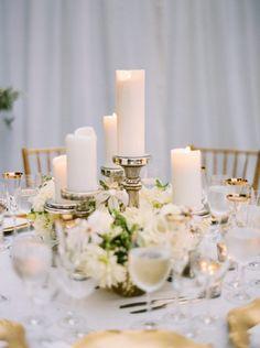 Featured Photographer: Erich McVey; Wedding reception centerpiece idea.