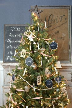 Vintage christmas tree with balsam hill jeanne oliver i am in love