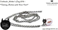 Trollbeads Fantasy Necklace with Rosa Pearl