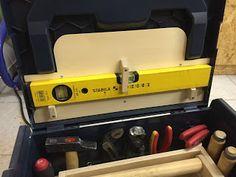 In der L-Boxx ist oft kein oder zu wenig Platz für Zubehör. Darum nutze ich schon lange Deckeleinlagen aus Holz um zusätzliche Dinge ...