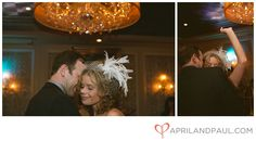 New Orleans wedding at The Royal Sonesta. Reception dancing.