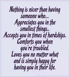 The only thing nicer is to be that person for another  ~ N ❤️