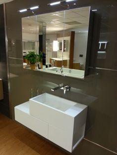 badkamerkast betonplex | Badkamer | Pinterest