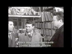 Orson Welles Interview - featuring Isidore Isou Lettrism - YouTube Really incredible stuff!