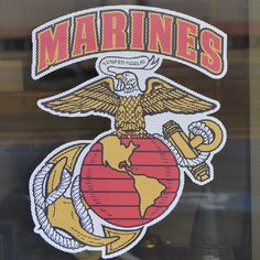 "Show off your Marine Corps pride or support on virtually anything with our Eagle, Globe, and Anchor Perforated View Through Decal.  Order yours now!  Features:  Made of vinyl. Cut so that it can be easily seen through on rear car/truck window. Measures: 10""(W) x 13""(T).  #SgtGrit #Marines"