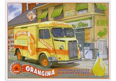 Citroën type H - Orangina
