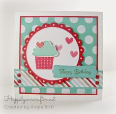Happily Ever Crafter: Create a Cupcake Kind of Day!  Stampin' Up!