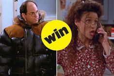 """Which """"Seinfeld"""" Character Would Be Your Partner In Crime? Seinfeld Characters, Partners In Crime, Pretty Little Liars, Believe, Told You So, Wellness, Messages, Play, Texting"""