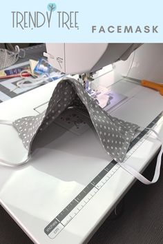 SHARE 52214735693 A fabric face mask is not proper personal Small Sewing Projects, Sewing Projects For Beginners, Sewing Hacks, Sewing Tutorials, Sewing Ideas, Diy Mask, Diy Face Mask, Mesh Ribbon, Best Face Mask