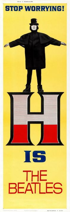 ♥♥♥♥George H. Harrison♥♥♥♥  Help! Poster