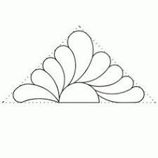 Image result for continuous line quilting circles pattern