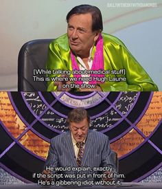 Stephen Fry on Hugh Laurie