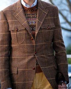 "756 gilla-markeringar, 11 kommentarer - Gentleman's Gazette (@gentlemansgazette) på Instagram: ""Breanish tweed jacket with custom details. #classygents #gentslifestyle #dressedtoimpress…"""