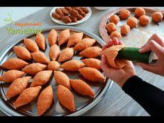 DAĞILMAYAN ÇATLAMAYAN EN KOLAY İÇLİ KÖFTE TARİFİNİ YAPTIM ✅SALATALIKLA İÇLİ KÖFTE AÇTIM💯 - YouTube Pizza Pastry, Turkish Delight, Iftar, Carrots, Almond, Recipies, Food And Drink, Soup, Beef