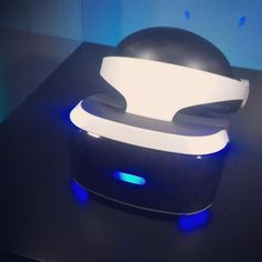 An awesome Virtual Reality pic! Saw this PlayStation Vr today! #Sony #playstation #playstationvr #vr #virtualreality #game #gaming #ps4 #nexgen #4players #greatnessawaits #technology #preorder #gamer #gaming by versace_ridz check us out: http://bit.ly/1KyLetq