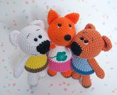 Amigurumi tiny fox crochet pattern