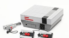 LEGO NES - Who play it when you were young? :D (by chiukeung) Legos, Lego Videos, Lego Projects, Upcycling Projects, Lego Games, Lego Table, Lego Storage, Cool Lego Creations, Lego Worlds