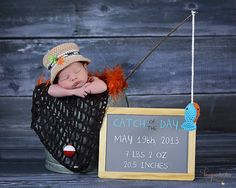 69 ideas photography baby boy newborn birth announcements for 2019 Baby Boy Photos, Newborn Pictures, Baby Pictures, Newborn Boy Photos, Baby Boys, Baby Boy Newborn, Fishing Nursery, Boys Fishing Bedroom, Boy Fishing