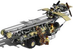 """Onager"" Five-Wheeled Diesel Launcher Truck Mk. XXIX (ready) | by Ɍaillery"