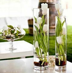 Decoracion de interiores - Como decorar un florero de vidrio