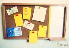 Okato World: DIY & Crafts: Pizarra de Corcho / Corkboard